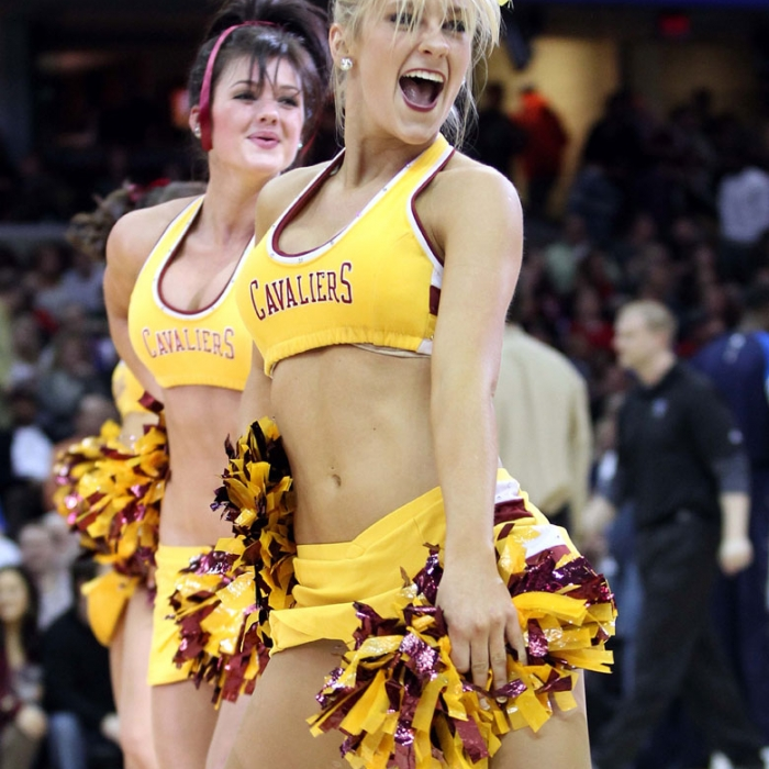 Cavalier Girls February Game Photos