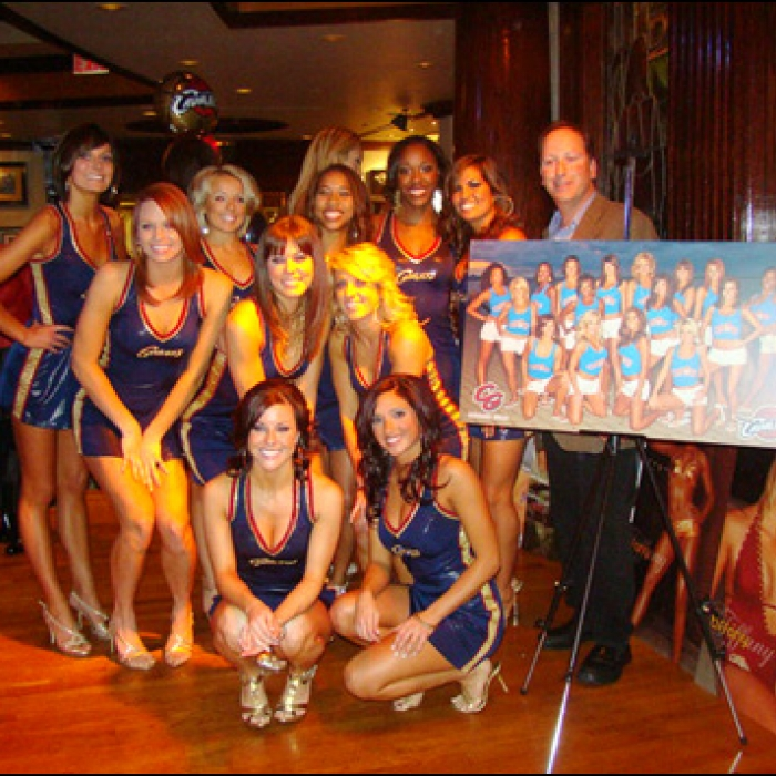 09-10 Cavalier Girls Calendar Release Party
