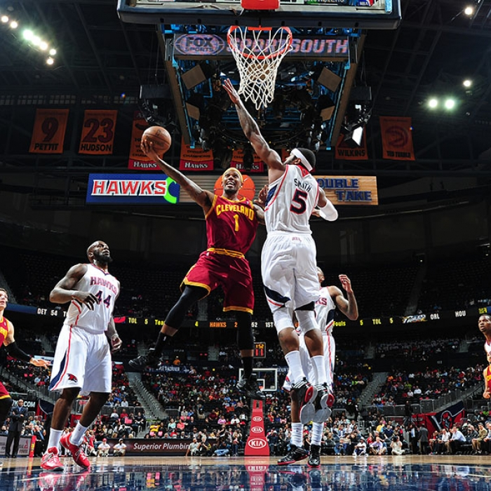 Cavaliers at Hawks – April 1, 2013