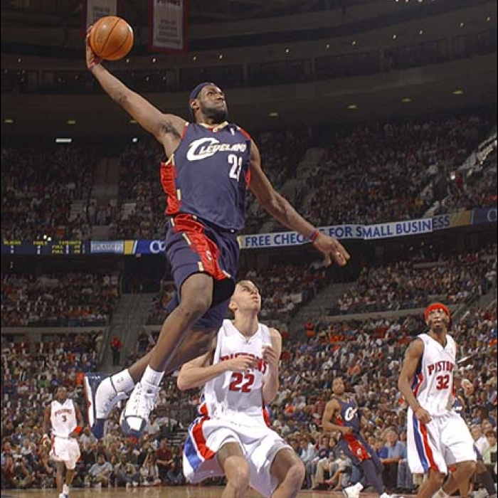Cavaliers: Cavaliers at Pistons Photos - May 17, 2006