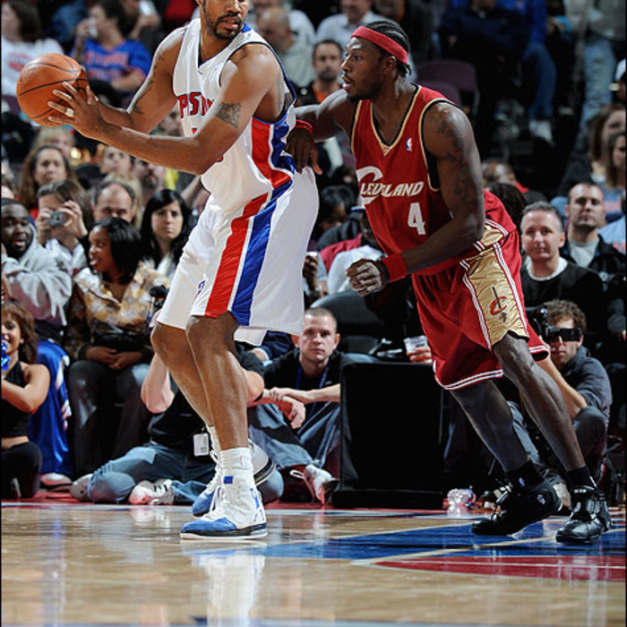 Cavaliers: Cavaliers at Pistons - November 19th, 2008