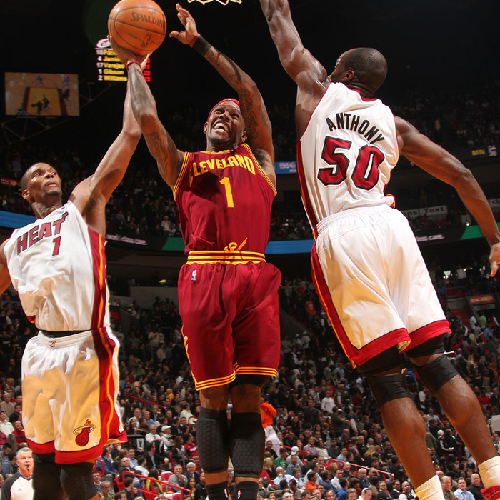 Cavaliers at Heat - December 15th, 2010