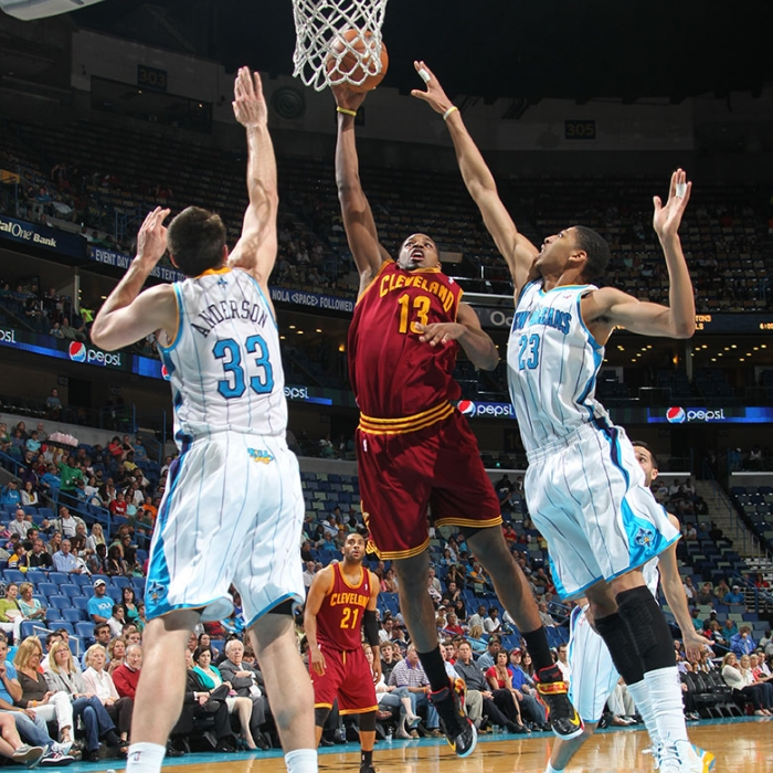 Cavaliers at Hornets - March 31, 2013