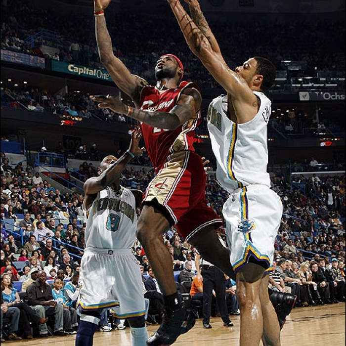 Cavaliers: Cavaliers at Hornets - December 29th, 2007
