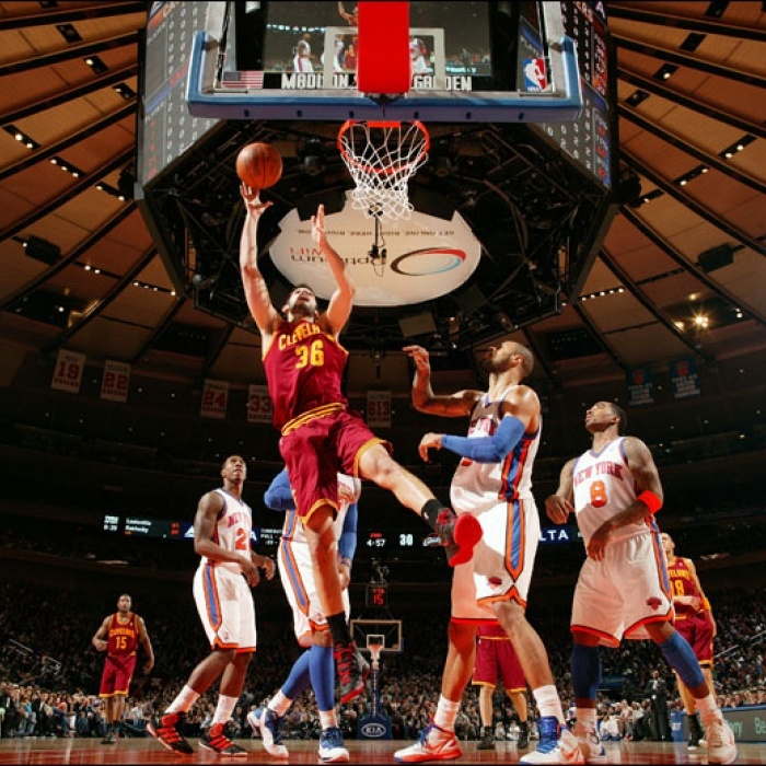 Cavaliers at Knicks - Saturday, March 31, 2012