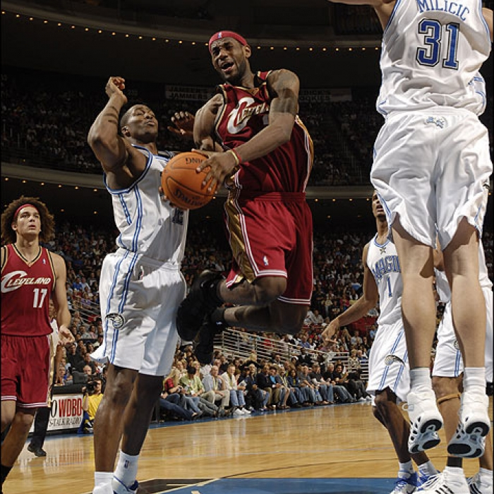 Cavaliers at Magic - December 16th, 2006