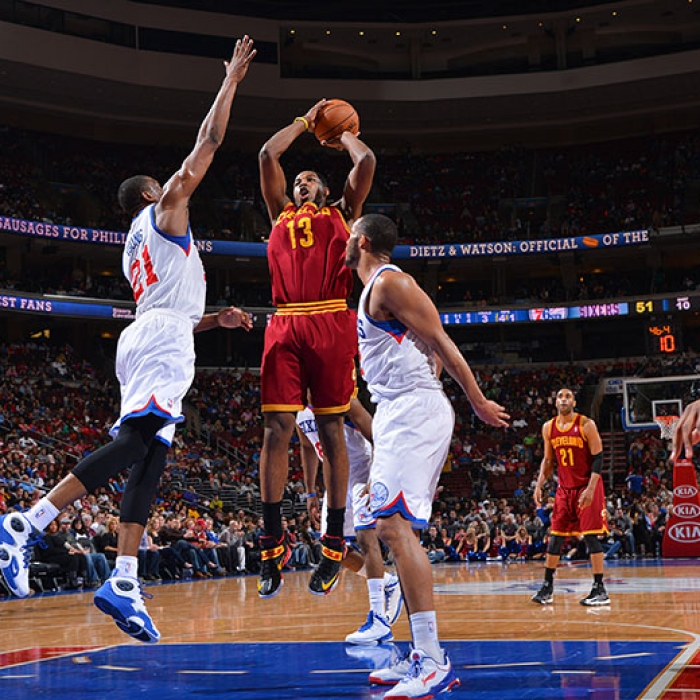 Cavaliers at 76ers – April 14, 2013