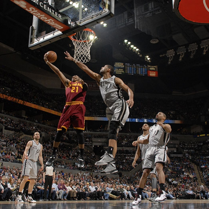 Cavaliers at Spurs - March 16th, 2013