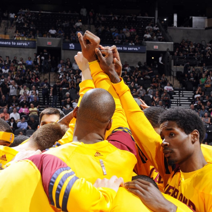 Cavaliers at Spurs - Sunday, April 22, 2012