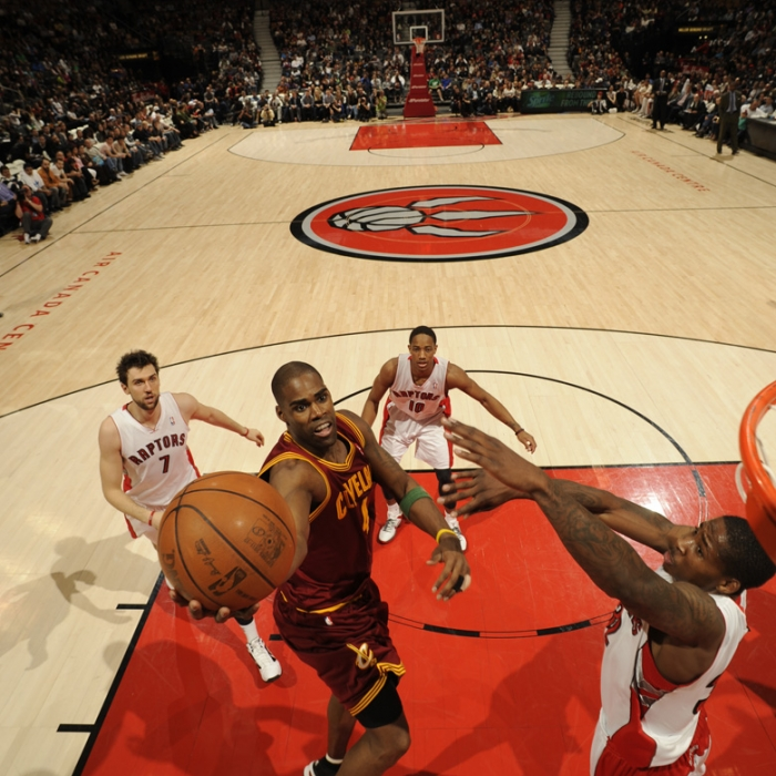 Cavaliers at Raptors - April 6, 2012