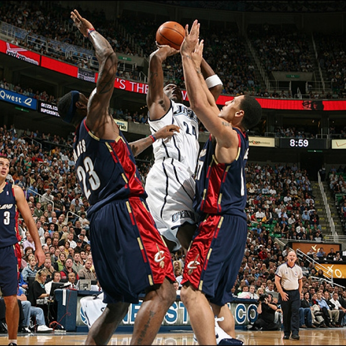 Cavaliers: Cavaliers at Jazz - November 7th, 2007
