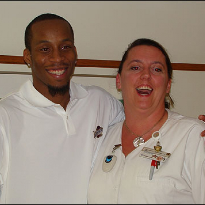 Cavaliers: Tarence Kinsey Visit the Cleveland Clinic