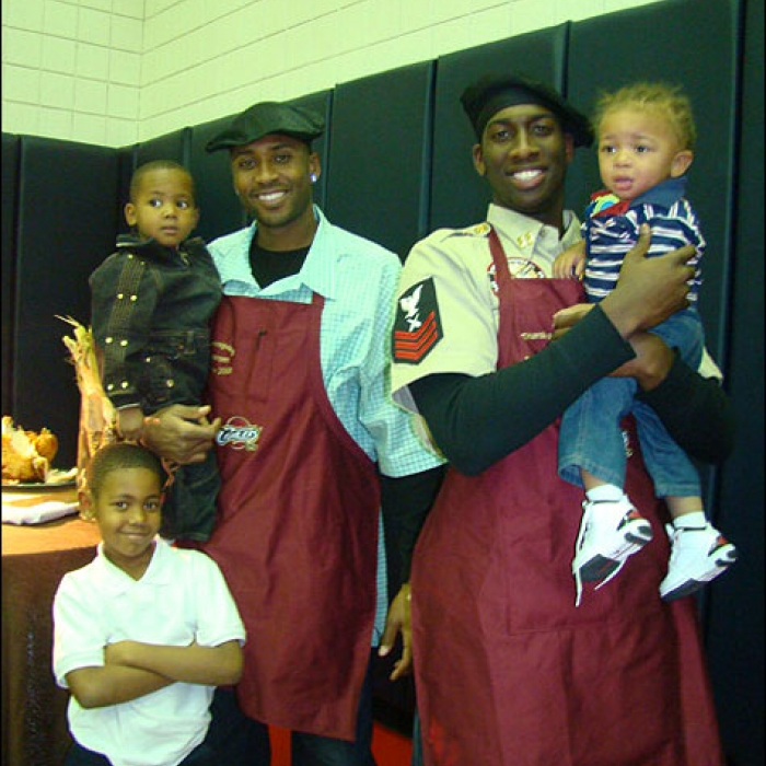 Cavaliers: Thanksgiving Dinner at The Q - 11/21/2008