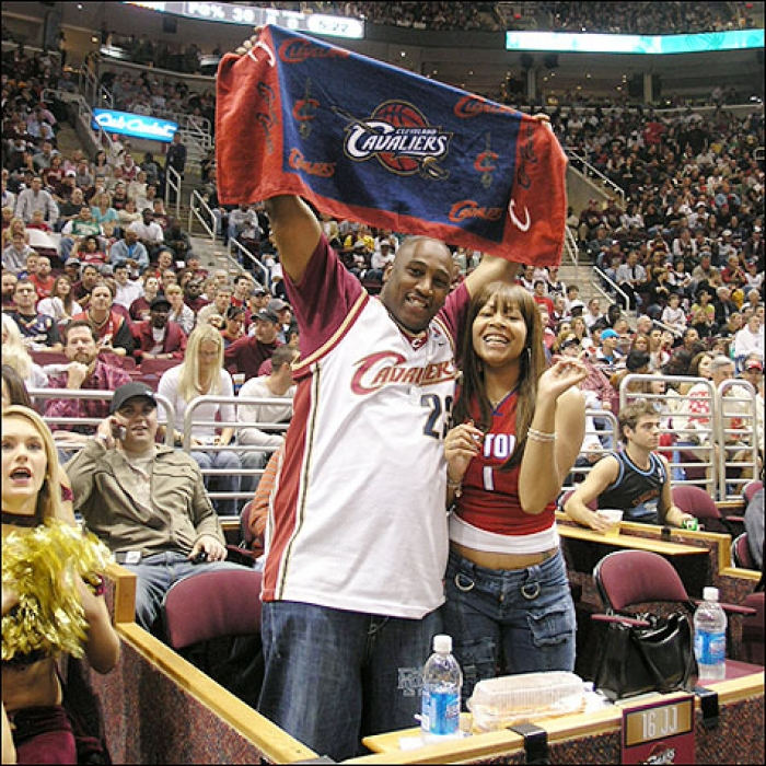 Cavaliers: Cavaliers vs. Pistons Fan Photos - May 13, 2006