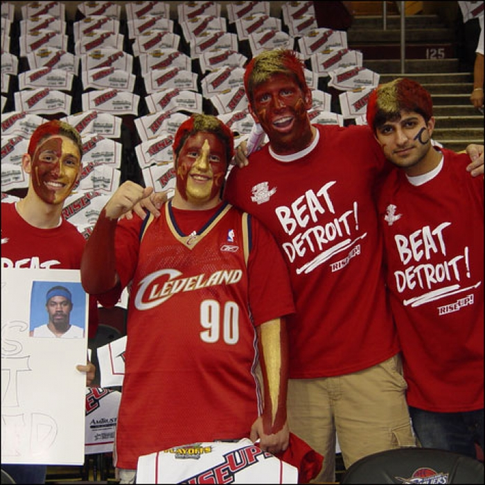 Cavaliers: Cavs vs. Pistons Game 4 Fan Photos - May 29, 2007