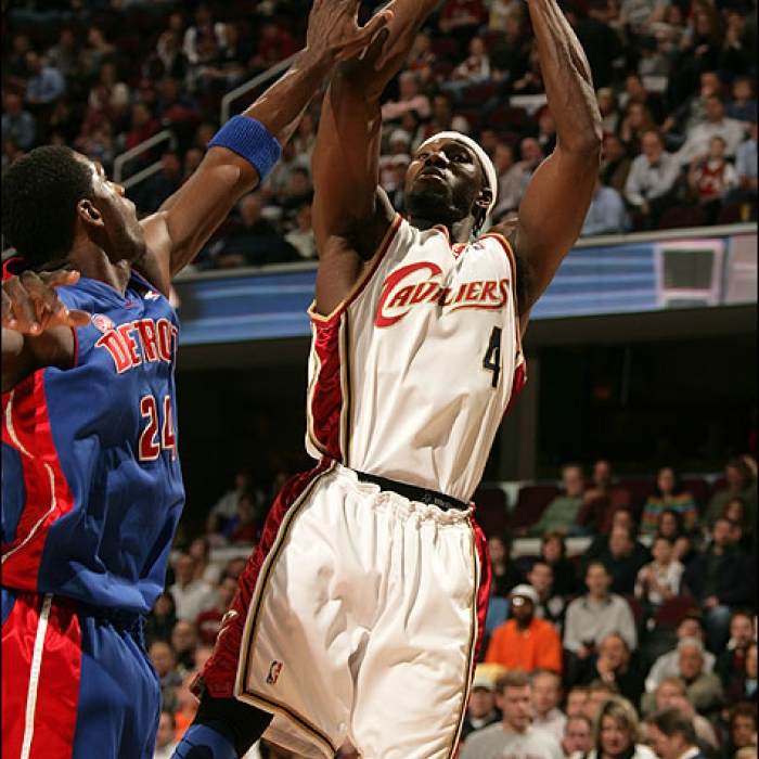 Cavaliers: Cavaliers vs. Pistons - March 19th, 2008