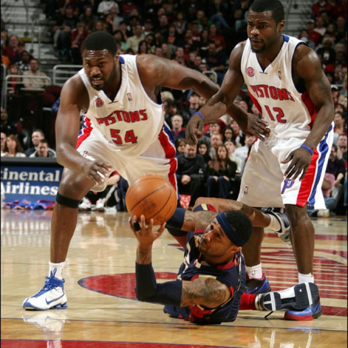 Cavaliers vs. Pistons - March 21st, 2010
