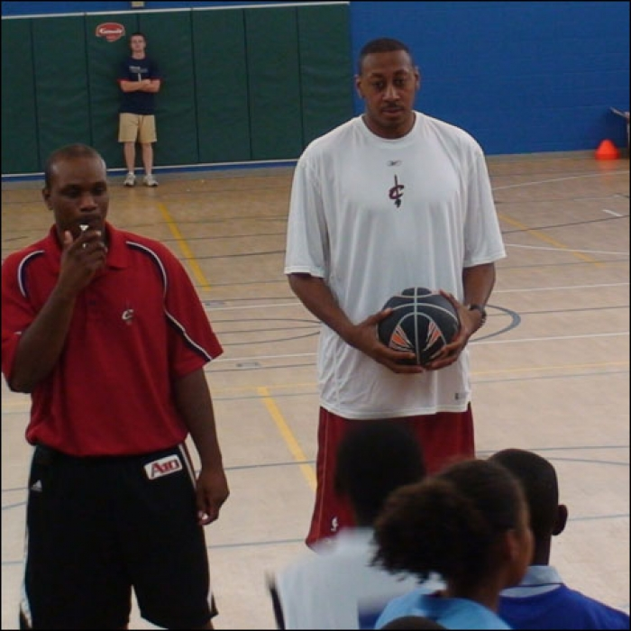 Cavaliers: Donyell Marshall Boys & Girls Club Basketball Camp