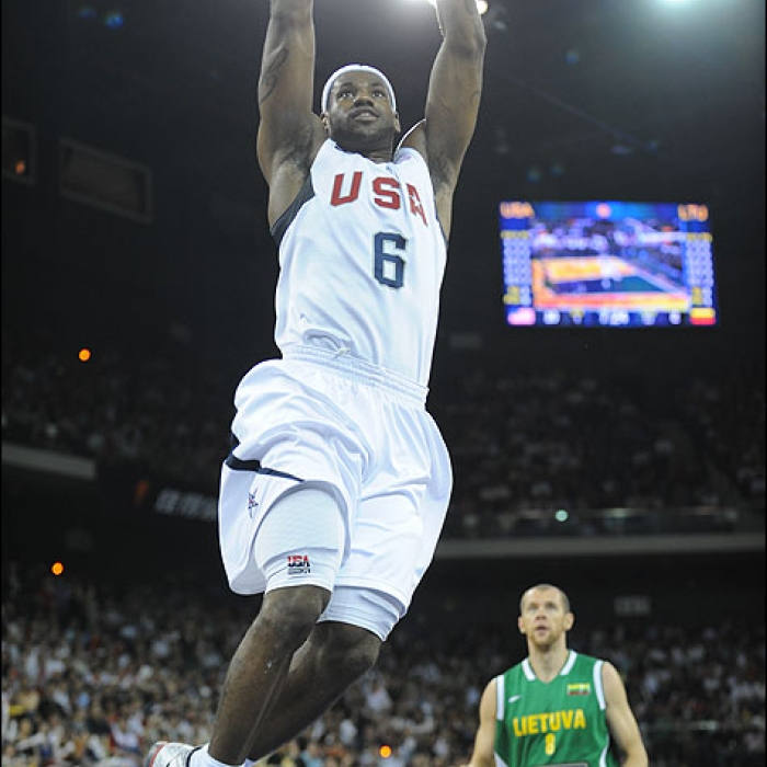 Cavaliers: 2008 Beijing Olympic Tune Up - LeBron James
