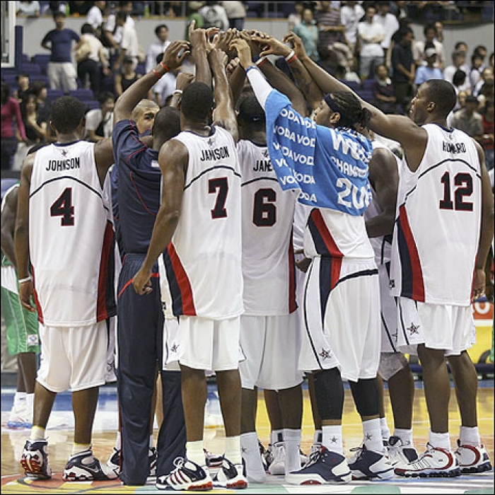 LBJ Team USA versus Senegal-August 24, 2006