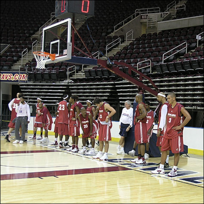Cavs Training Camp 2006-Day 1