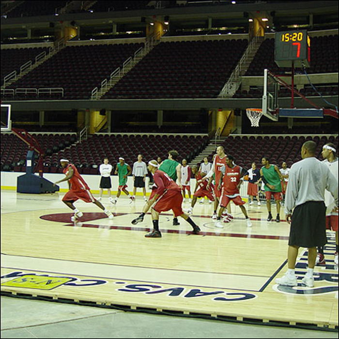 Cavs Training Camp 2006-Day 2
