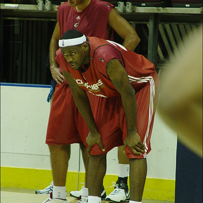 Cavs Training Camp 2006-Day 4