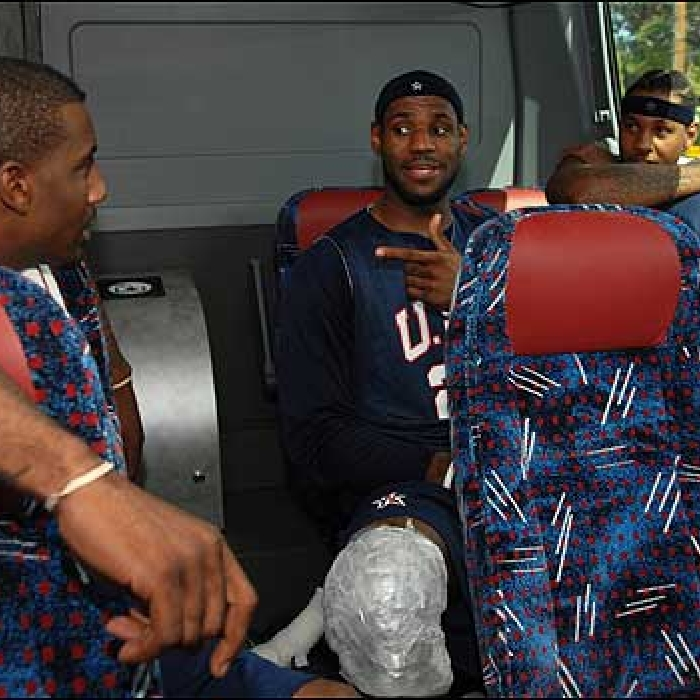 Cavaliers: LeBron at Team USA Training Camp