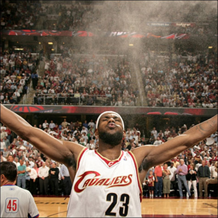 Cavaliers: Cavaliers vs. Wizards Game Photos - May 3, 2006