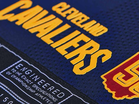 Close Up Look at Cavs New City Unis
