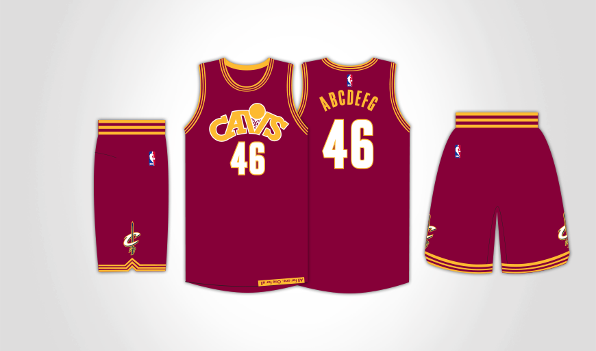8bdf937f09b Cavs Unveil Three New Alternate Uniforms for 2015-16 Season ...