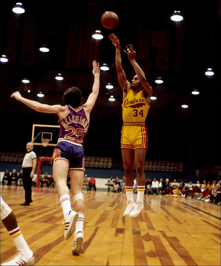 Cavs Uniforms Through the Years