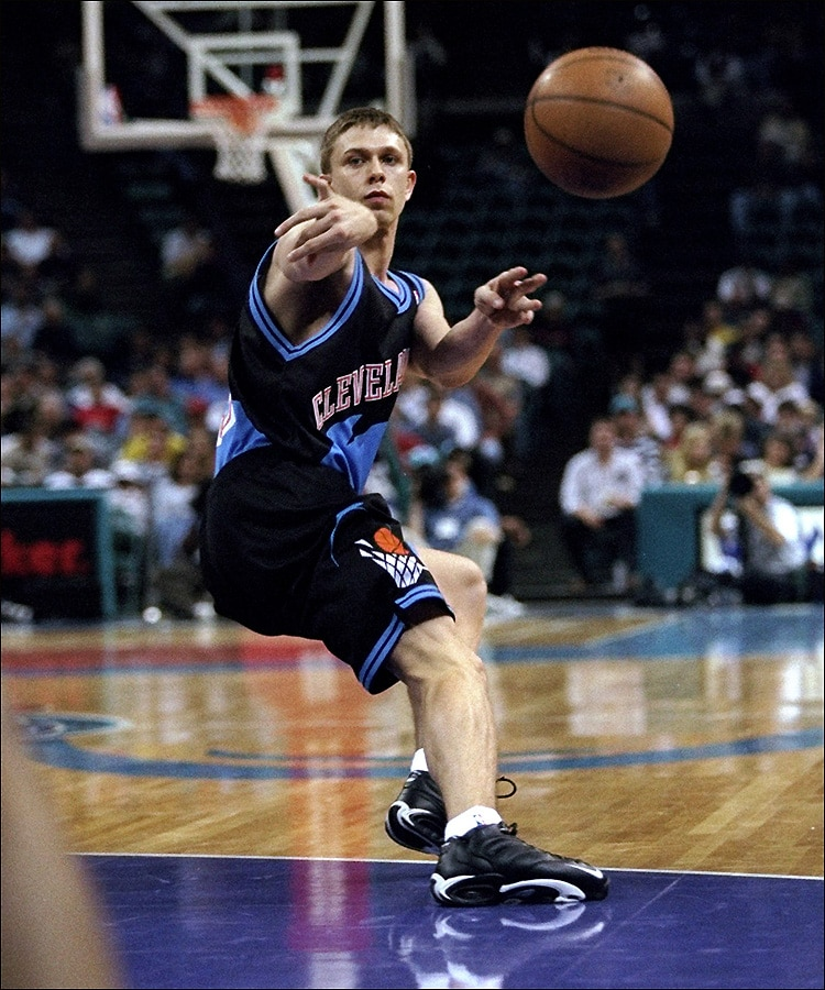 05f16c76f3a4 Bobby Sura in the black version of Cleveland s late-90s look. (Kent Smith