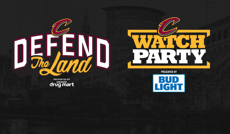 The Cleveland Cavaliers NBA Finals Game 1 Watch Party ...