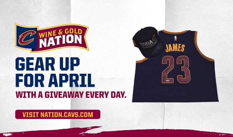 Wine & Gold Nation #GearUp Sweepstakes