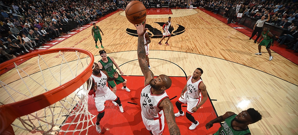 New-Look Raps Oust Cs with Defensive Toughness