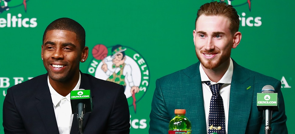 Five Facts: Baynes, Hayward, Irving, Larkin, Morris  Boston Celtics