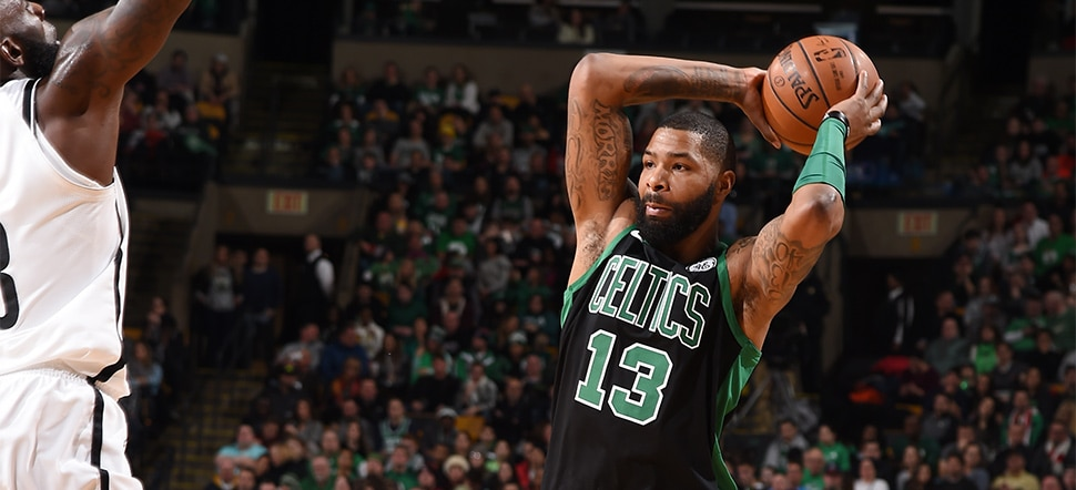 Marcus Morris Shines Off Bench As Celtics Drop Nets