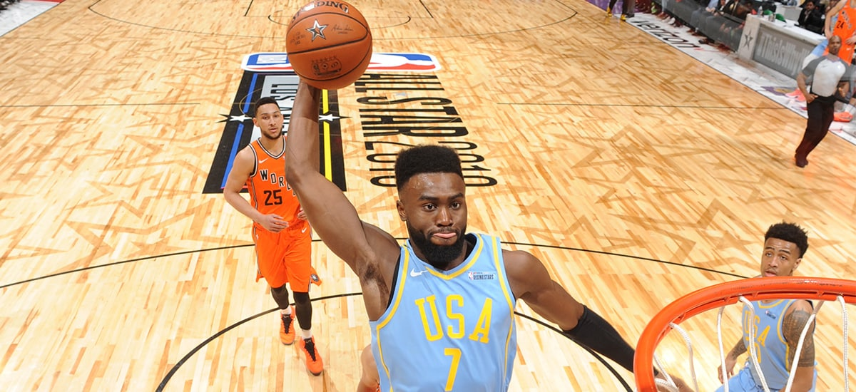 Rise Up: Brown Smashes Celtics Record in Rising Stars Game