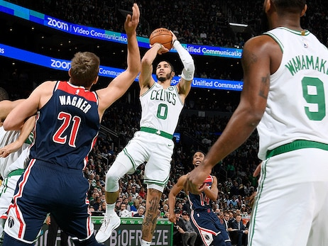C's Oust Wizards in Highest-Scoring Outing in Decades