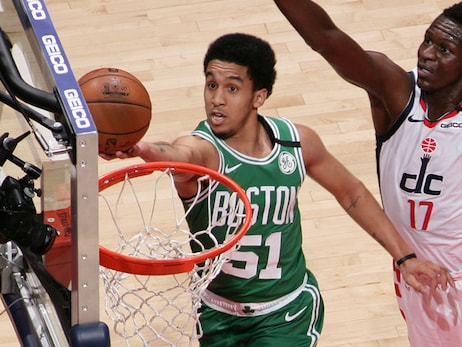 Rookie Waters Impresses Off Bench as C's Fall to Wizards