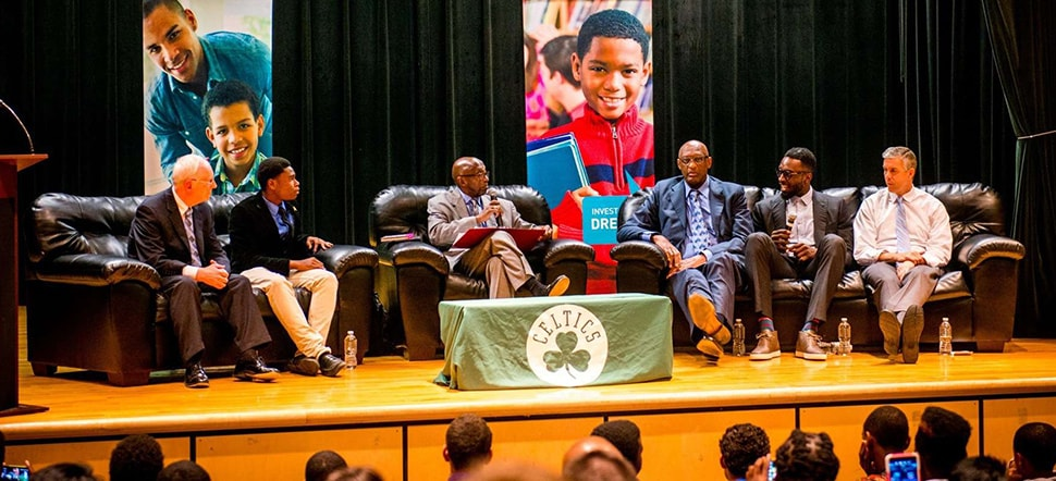 Celtics, BPS Show Commitment to My Brother's Keeper Initiative