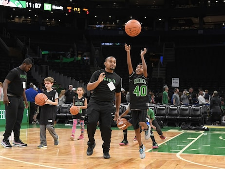 Oct. 5, 2019 | Jr. Celtics Clinic at Open Practice – TD Garden