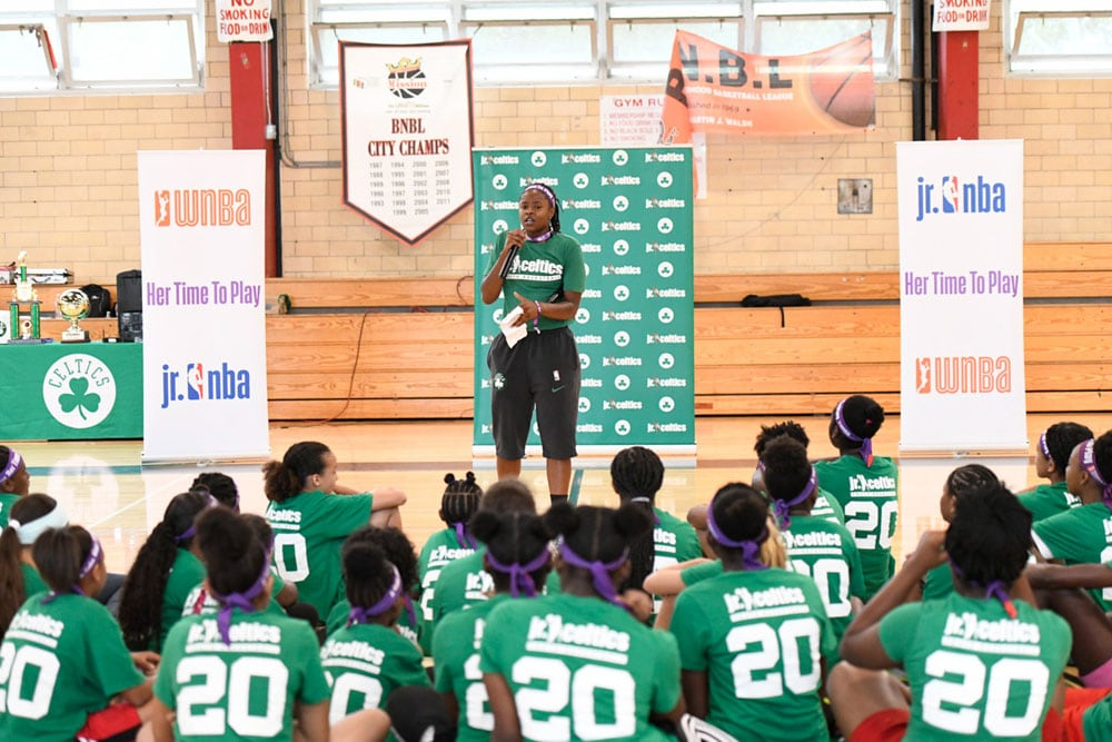 August 28, 2019 | Jr  Celtics Her Time to Play Clinic