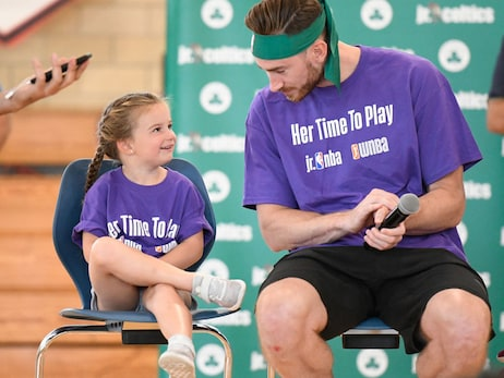August 28, 2019 |  Jr. Celtics Her Time to Play Clinic – Mission Hill