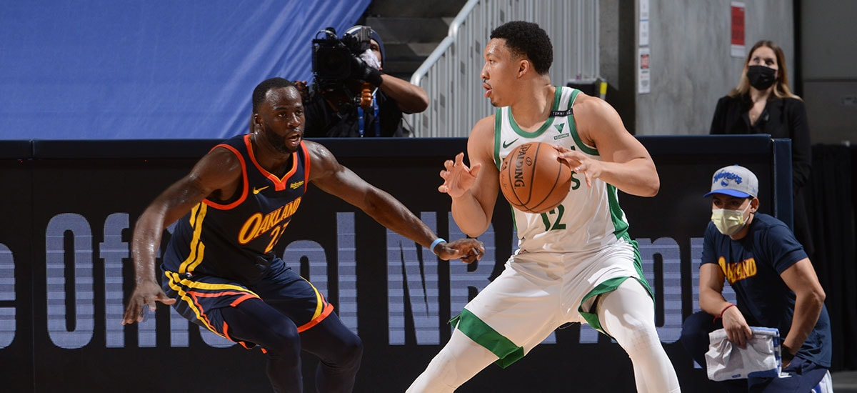 Grant Williams Steps Up, Helps Celtics Fight Off Warriors