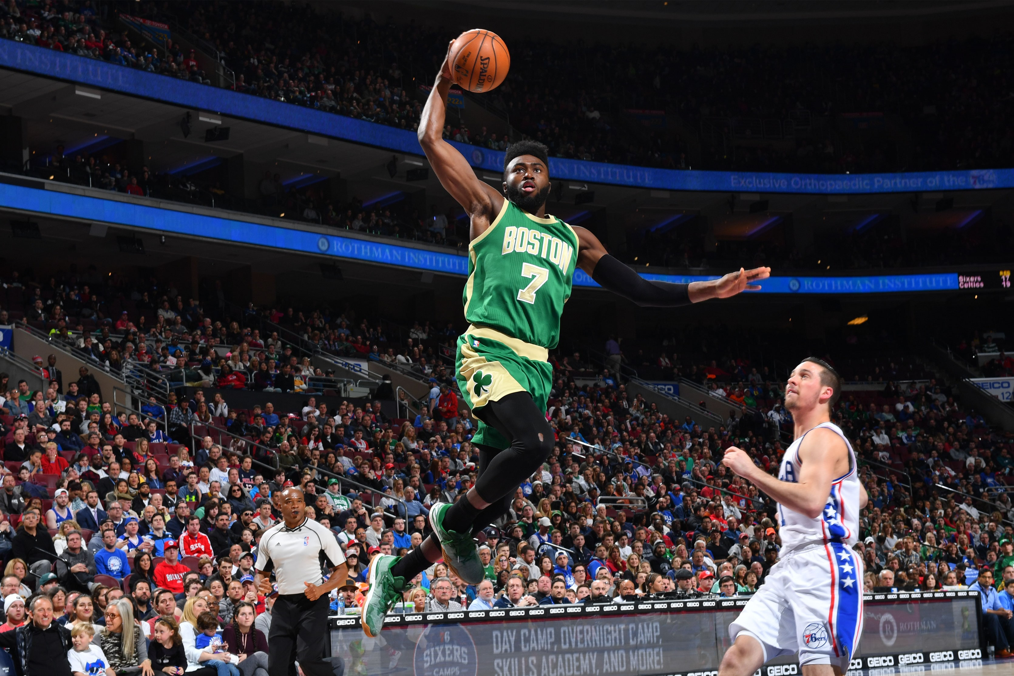 Boston Celtic Standings >> Jaylen Brown Named to All-Rookie Second Team | Boston Celtics