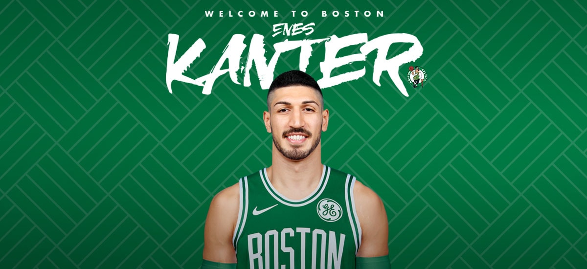 best sneakers 2085c b933e Celtics Sign Enes Kanter | Boston Celtics