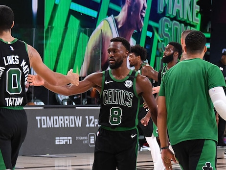 Kemba's Halftime Message in Game 5 Helps Celtics Keep Season Alive