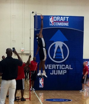 Markel Brown vertical leap